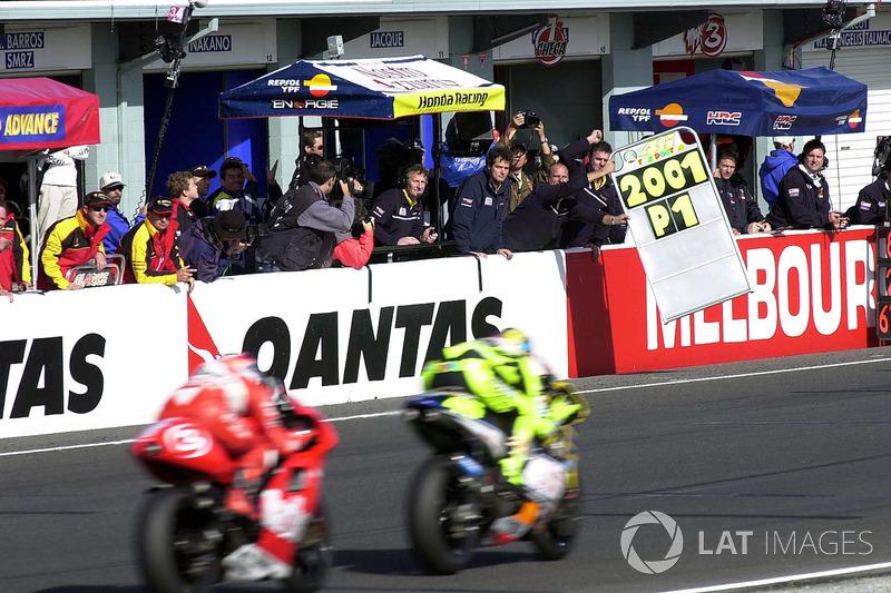 Phillip Island 2001 - Campeón del mundo de 500cc