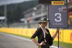 Chicas de la parrilla Pirelli