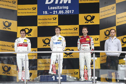Podium: 1. Lucas Auer, Mercedes-AMG Team HWA, Mercedes-AMG C63 DTM; 2. Robert Wickens, Mercedes-AMG