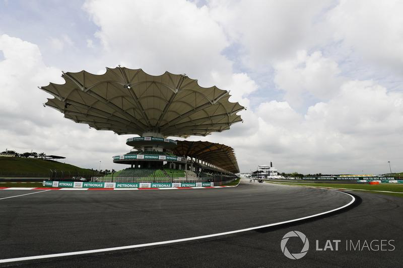 Sepang Circuit final corner detail