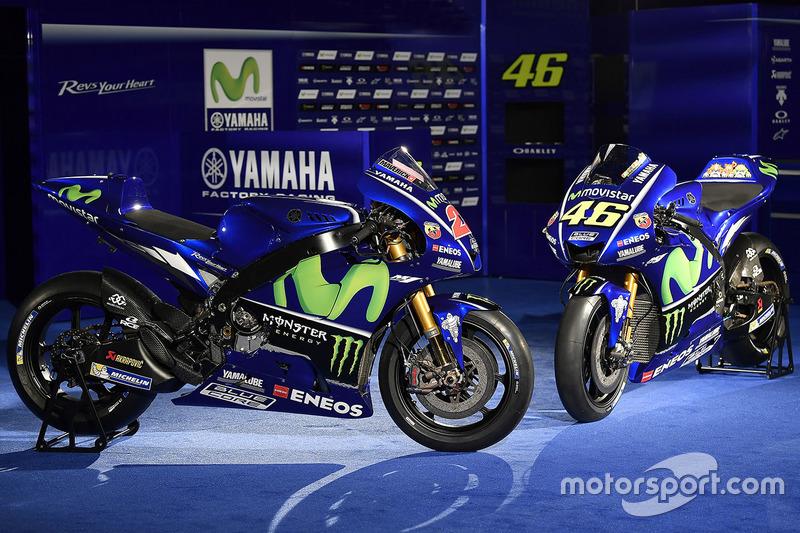 Les motos de Valentino Rossi, Yamaha Factory Racing, Maverick Viñales, Yamaha Factory Racing