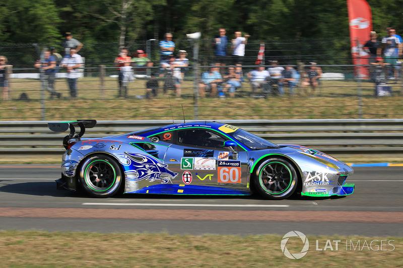 12. GTE-Am: #60 Clearwater Racing, Ferrari 488 GTE