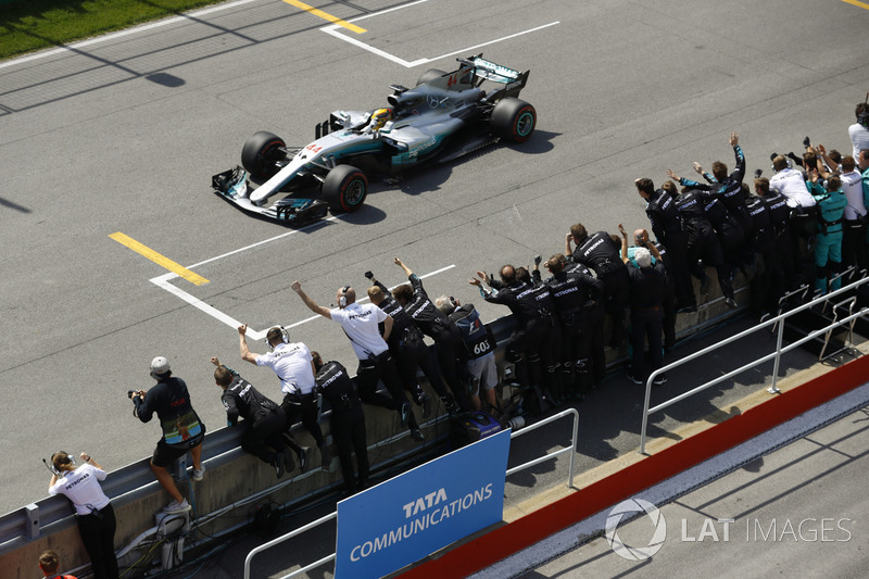 Kanada GP: Lewis Hamilton, Mercedes AMG F1 W08