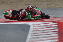 Sam Lowes, Aprilia Racing Team Gresini crash