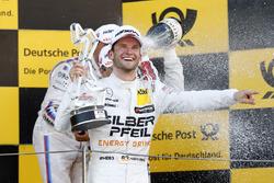 Podium : le vainqueur Maro Engel, Mercedes-AMG Team HWA, Mercedes-AMG C63 DTM