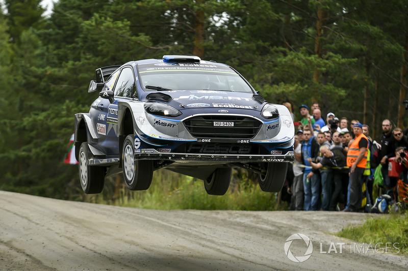Отт Тянак, Мартін Ярвеоя, Ford Fiesta WRC, M-Sport