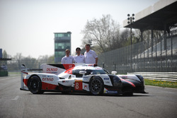 Hisatake Murata, Pascal Vasselon, Toyota Racing with theToyota Gazoo Racing Toyota TS050 Hybrid, during the unveil