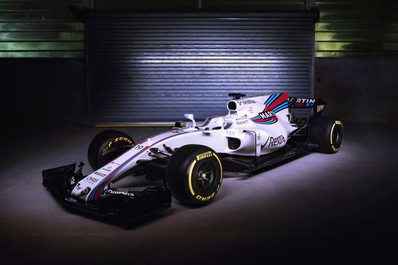 Williams FW40 in volle glorie