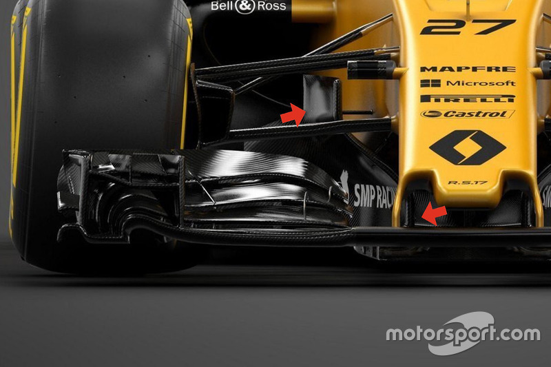 Detail, Renault Sport F1 Team RS17