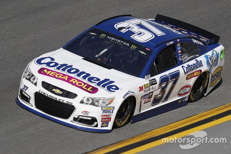 #37: Chris Buescher, JTG Daugherty Racing, Chevrolet