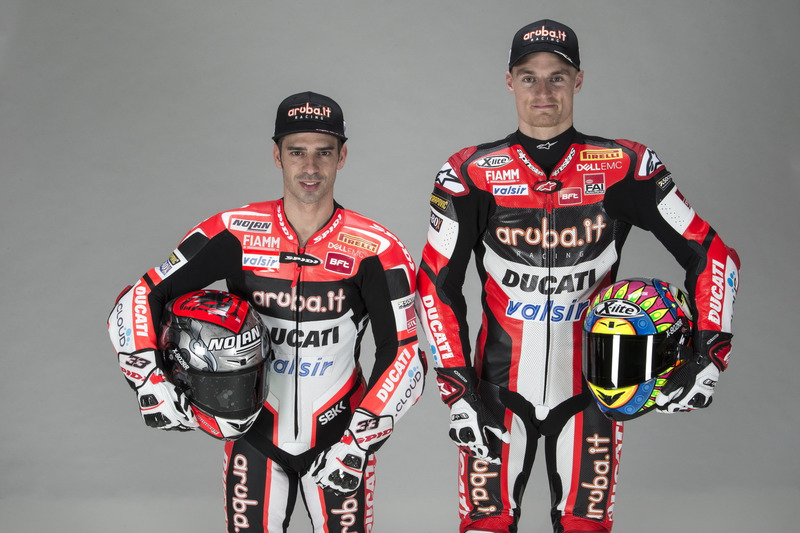 Marco Melandri y Chaz Davies, Ducati Team