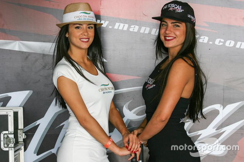 Chicas de la parrilla Argentina Chocon Medio, Las Toscas Racing