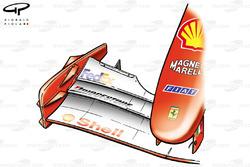 Ferrari F2001 (652) 2001 Monaco front wing