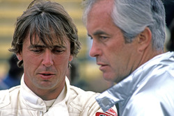 Rick Mears, Team Penske PC9 Cosworth with Roger Penske
