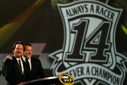 Tony Stewart, Stewart-Haas Racing and Eddie Vedder