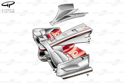 McLaren MP4-23 2008 front wing and nose