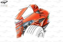 Echappement de la Ferrari F2001
