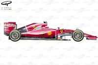 Ferrari ST15-T, vista laterale