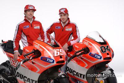 Presentatie Ducati Desmosedici GP13