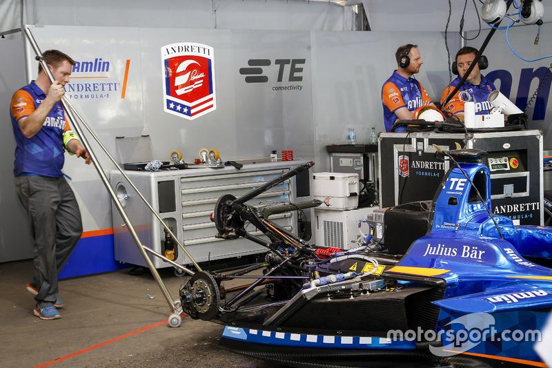 Auto de Simona de Silvestro, Amlin Andretti Autosport Formula E Team