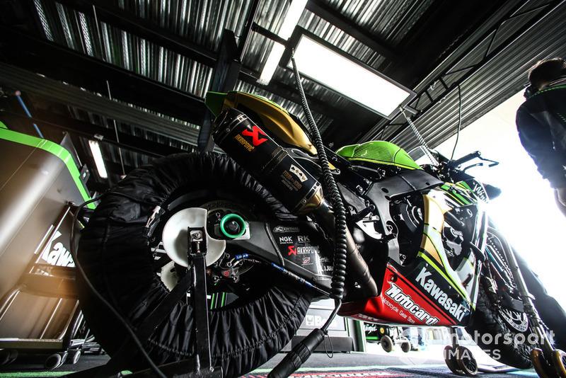 La moto de Jonathan Rea