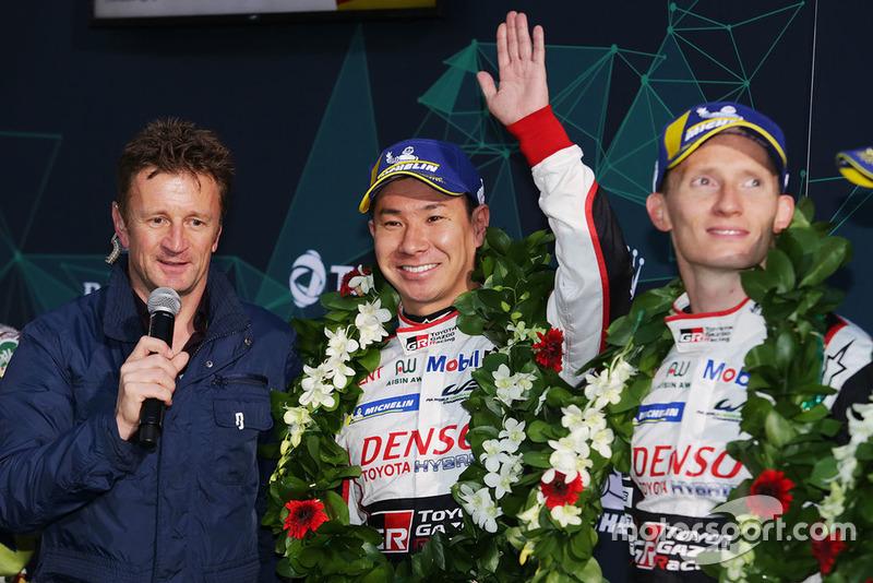 Race winner Kamui Kobayashi, Toyota Gazoo Racing