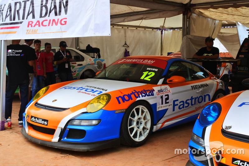 Porsche Carrera, Wing Bharoto, Fastron Jakarta Ban, ETCC 3000