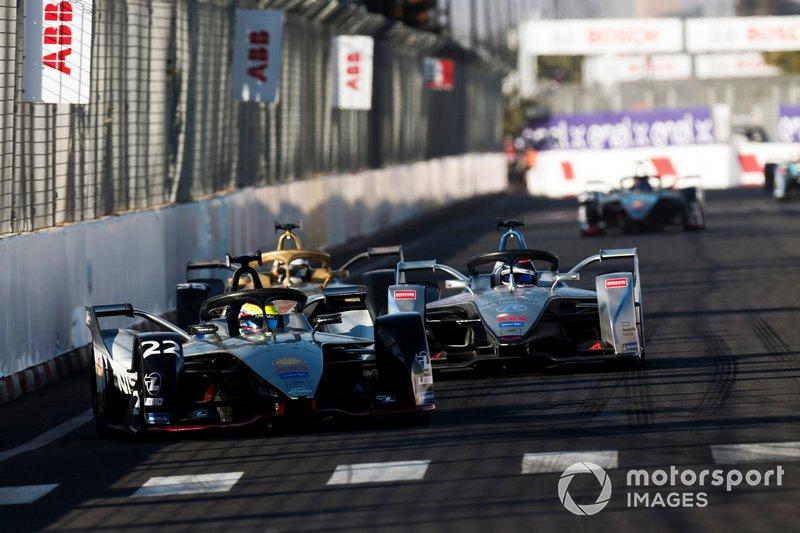 Oliver Rowland, Nissan e.Dams, Nissan IMO1, Edoardo Mortara Venturi Formula E, Venturi VFE05, Andre Lotterer, DS TECHEETAH, DS E-Tense FE19