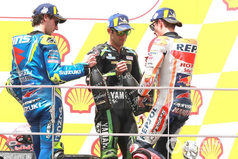 Marc Marquez, Repsol Honda Team, Alex Rins, Team Suzuki MotoGP, Johann Zarco, Monster Yamaha Tech 3