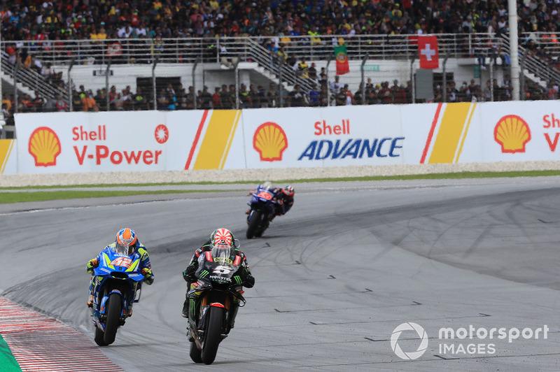 Жоанн Зарко, Monster Yamaha Tech 3, Алекс Рінс, Team Suzuki MotoGP, Маверік Віньялес, Yamaha Factory Racing