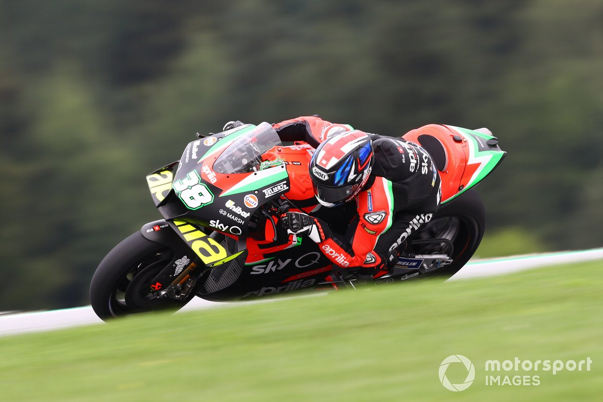 P20 Bradley Smith, Aprilia Racing Team Gresini