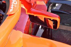 Rétroviseur de la Ferrari SF71H