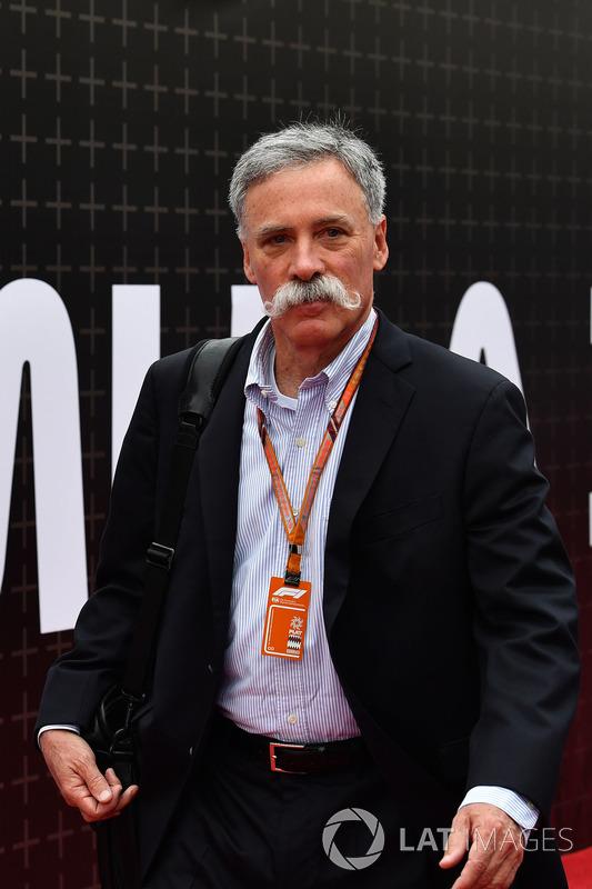 تشايس كاري، الرئيس التنفيذي لمجلس إدارة مجموعة الفورمولا واحد