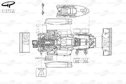 Tyrrell P34 1976 explorando vista superior