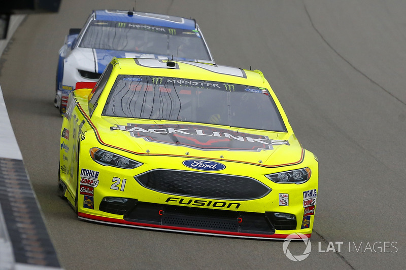Paul Menard, Wood Brothers Racing, Ford Fusion Menards / Jack Links e Alex Bowman, Hendrick Motorsports, Chevrolet Camaro Nationwide