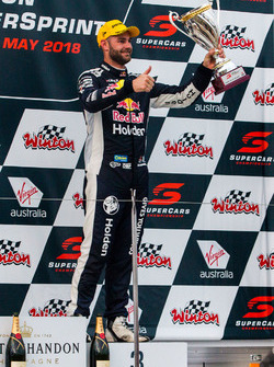 Podium: third place Shane van Gisbergen, Triple Eight Race Engineering Holden
