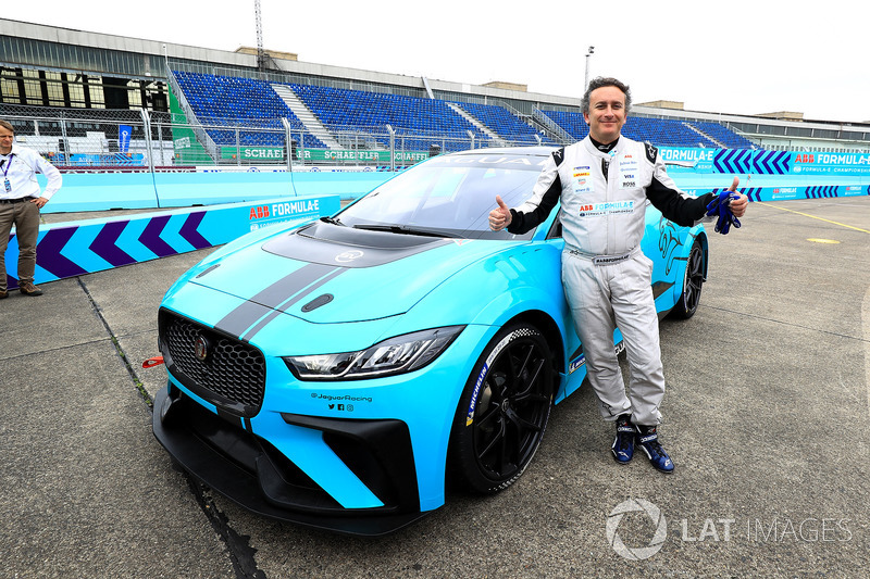Alejandro Agag, CEO, Formula E, mobil Jaguar iPace eTrophy