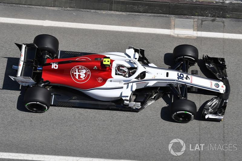 14: Charles Leclerc, Sauber C37, 1'18.910