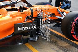 Stoffel Vandoorne, McLaren MCL33 aero sensor