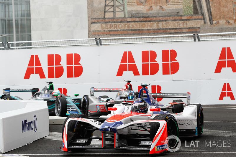 Nick Heidfeld, Mahindra Racing, Maro Engel, Venturi Formula E Team, Nelson Piquet Jr., Jaguar Racing