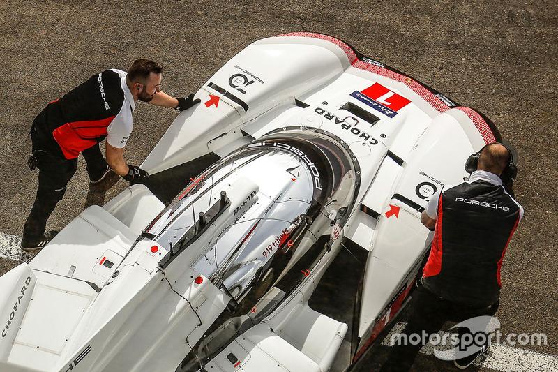 Porsche 919 Hybrid Evo, Porsche Team : ouïes à l'avant