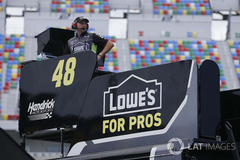 Chad Knaus, Hendrick Motorsports, Chevrolet Camaro Lowe's for Pros