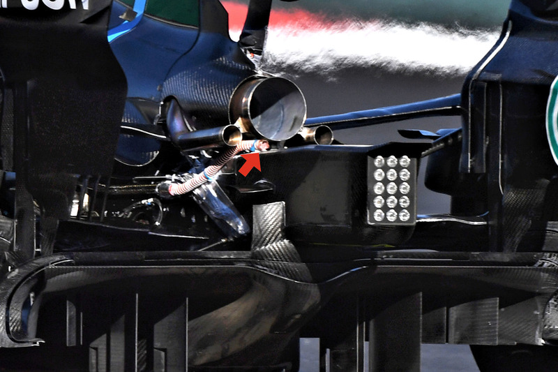 Mercedes-AMG F1 W09, rear detail