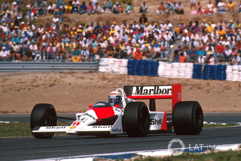 Alain Prost, McLaren MP4/4