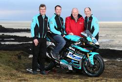 Alastair Seeley, EHA Racing, Edward Allingham, EHA Racing, Mervyn Whyte, North West 200 race director