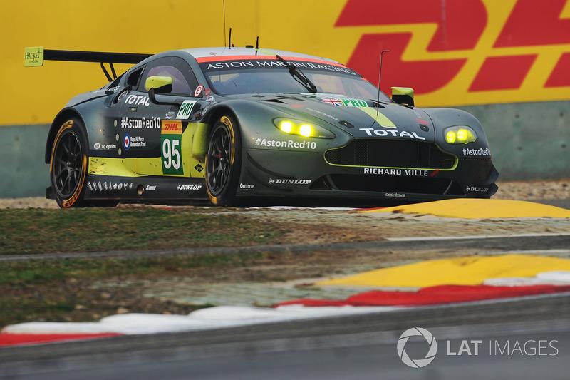 1. GTE-Pro: #95 Aston Martin Racing, Aston Martin Vantage: