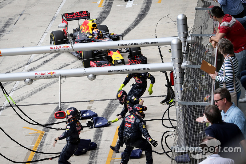 37: Гран Прі США, Остін. Команда Red Bull не готова до піт-стопу Макса Ферстаппена