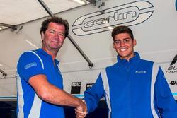Trevor Carlin welcomes Rinus van Kalmthout to the Carlin Benik USF2000 team