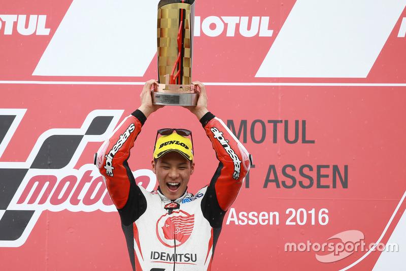 Podium: Sieger Takaaki Nakagami, Honda Team Asia