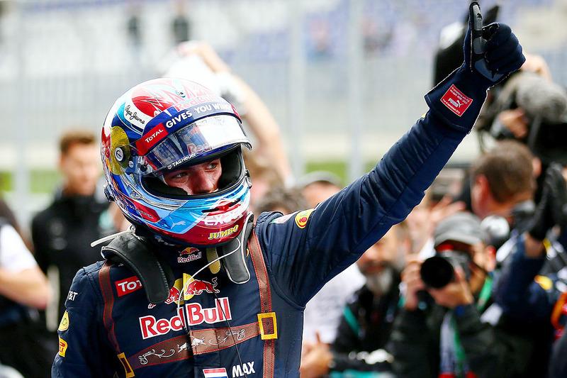 9. Gran Premio de Austria 2016: Max Verstappen (2º)